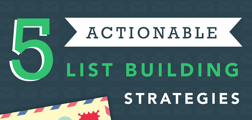 eliv8 top 5 actionable email list building strategies (infographic)List Building Strategies #3