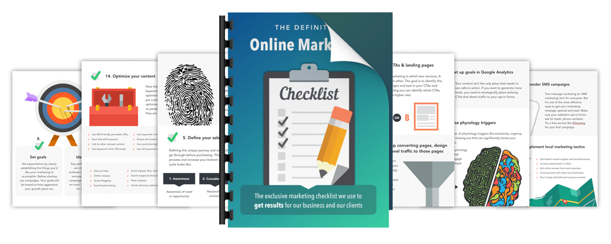 online-marketing-checklist